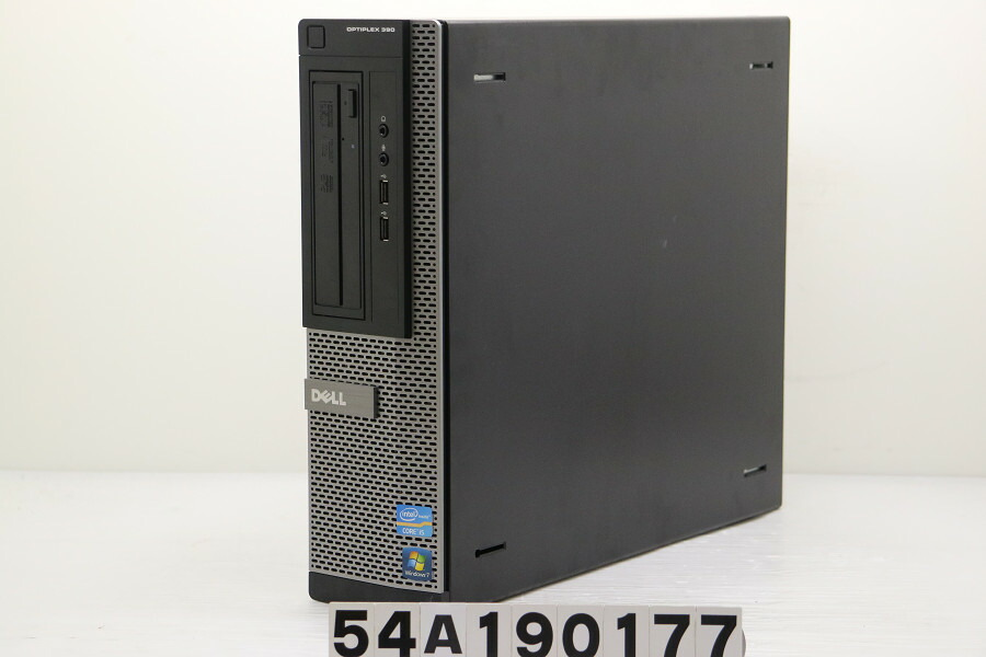 DELL Optiplex 390 SFF Core i5 2400 3.1GHz/4GB/500GB/Multi/XP【中古】【20191008】