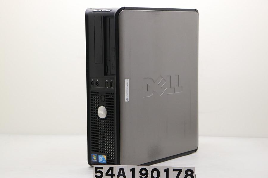 DELL Optiplex 380 SFF C2D E7500 2.93GHz/4GB/500GB/Multi/RS232C パラレル/XP【中古】【20191008】