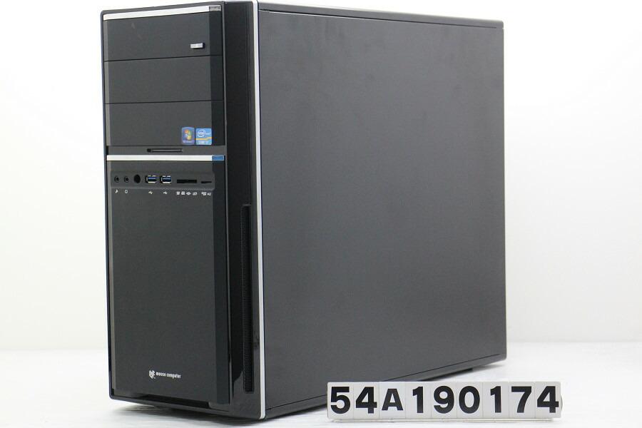mouse MDV-AQZ7110SH4-WS Core i7 3770K 3.5GHz/32GB/2TB/Multi/Win10/GTX1050Ti【中古】【20191010】
