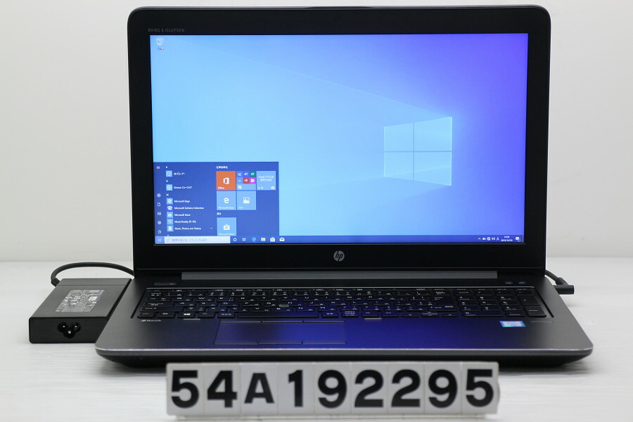 hp ZBook 15 G3 Core i7 6820HQ 2.7GHz/32GB/512GB(SSD)+1TB/15.6W/FHD/Win10/M2000M【中古】【20191030】
