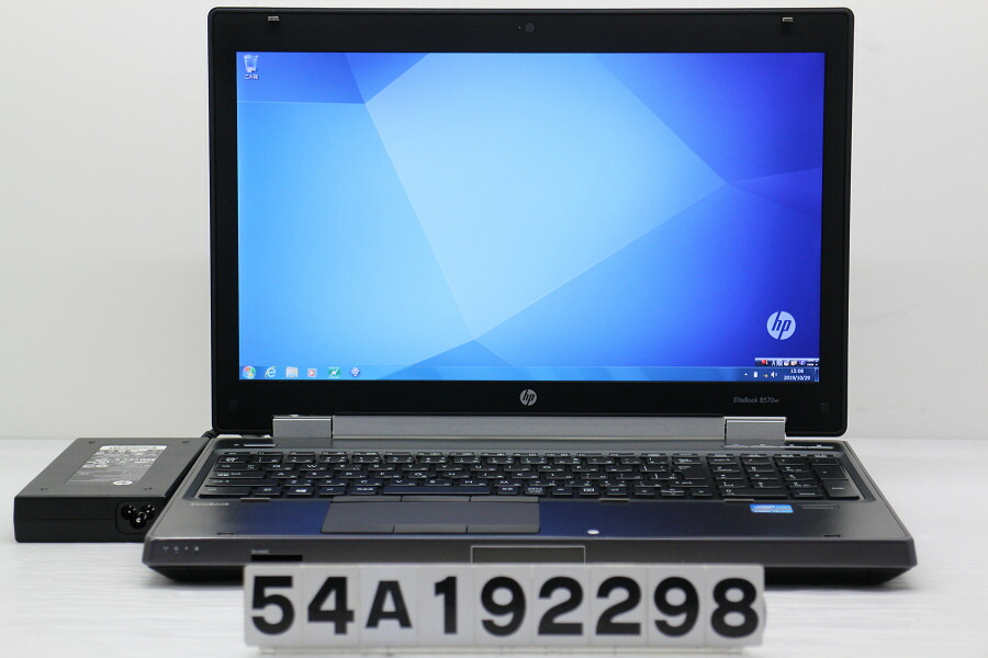 hp EliteBook 8570w Core i7 3740QM 2.7GHz/16GB/500GB/Multi/15.6W/FHD/Win7/K2000M【中古】【20191030】