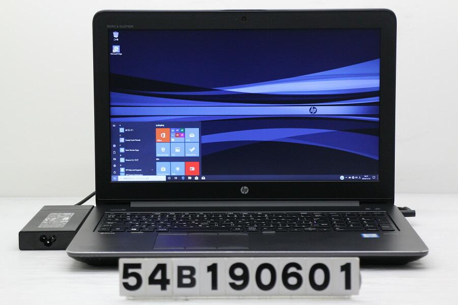 hp ZBook 15 G3 Core i7 6820HQ 2.7GHz/32GB/512GB(SSD)+1TB/Win10/QuadroM2000M【中古】【20191114】