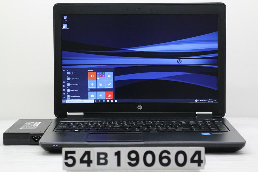hp ZBook 15 G2 Core i7 4810MQ 2.8GHz/32GB/512GB(SSD)+1TB/Win10/QuadroK2100M【中古】【20191114】