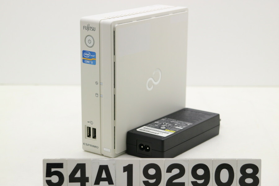 富士通 ESPRIMO B532/G Core i3 3220T 2.8GHz/4GB/256GB(SSD)/Win10【中古】【20191121】