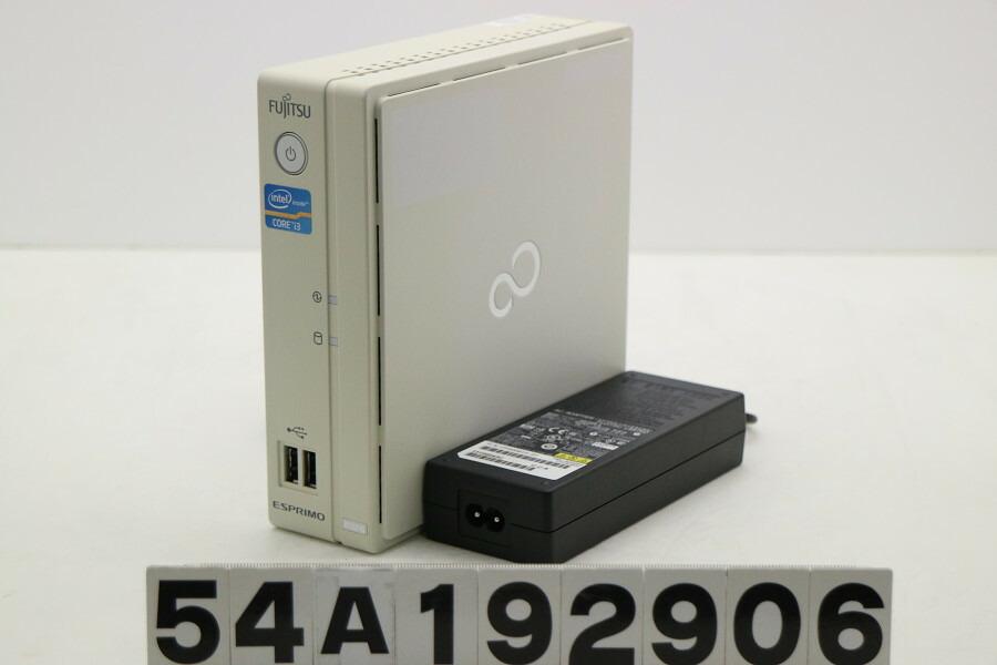富士通 ESPRIMO B532/G Core i3 3220T 2.8GHz/4GB/256GB(SSD)/Win10【中古】【20191123】