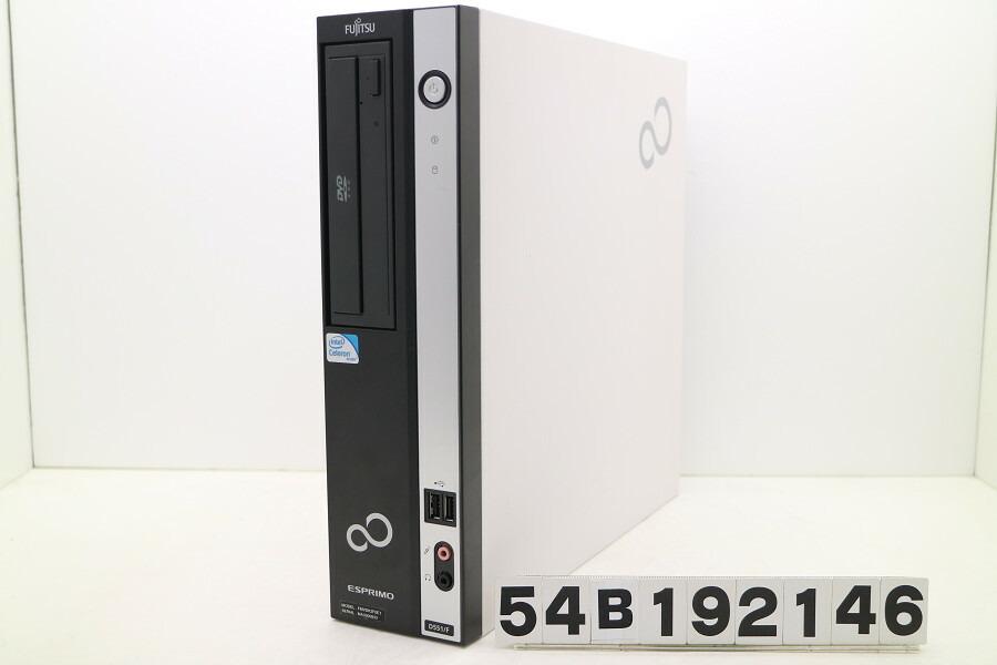 富士通 ESPRIMO D551/F Celeron G550 2.6GHz/4GB/250GB/DVD/XP【中古】【20191204】