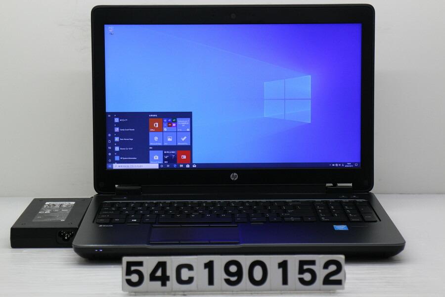 hp ZBook 15 G2 Core i7 4810MQ 2.8GHz/32GB/512GB(SSD)+1TB/Win10/QuadroK2100M【中古】【20191212】