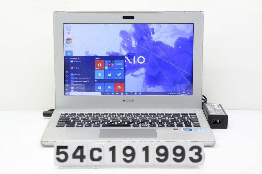 SONY SVT1111AJC Core i5 3317U 1.7GHz/4G/128G(SSD)/11.6W/FWXGA/Win10【中古】【20200110】