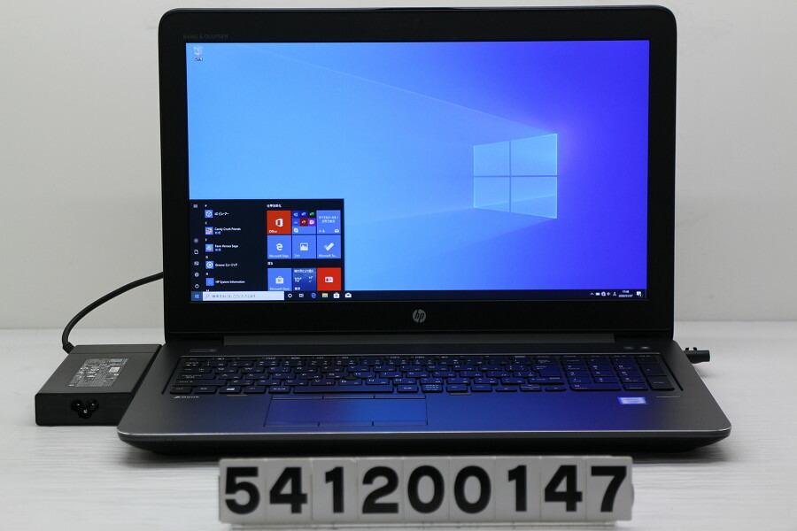 hp ZBook 15 G4 Xeon E3-1505M v6 3GHz/16G/512G(SSD)/15.6W/FHD/Win10/QuadroM2200【中古】【20200110】