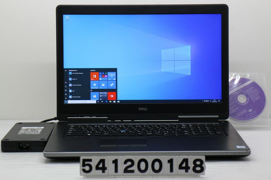 DELL Precision 7710 Xeon E3-1535M v5 2.9GHz/32G/512G(SSD)/Win10/QuadroM3000M【中古】【20200110】