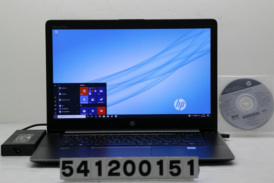 hp ZBook Studio G3 Xeon E3-1505M v5 2.8GHz/16G/512G(SSD)/Win10/QuadroM1000M【中古】【20200115】