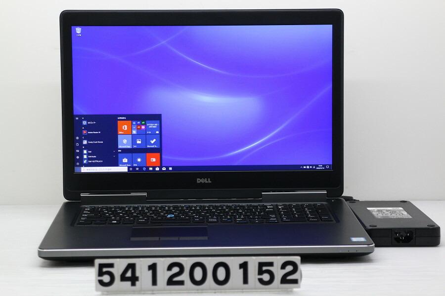 DELL Precision 7710 Xeon E3-1535M v5 2.9GHz/32G/512G(SSD)/Win10/QuadroM3000M【中古】【20200115】