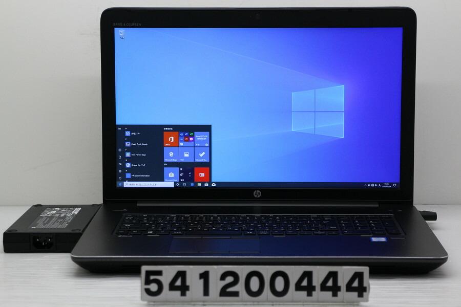 hp ZBook 17 G3 Core i7 6700HQ 2.6GHz/16G/256G(SSD)/17.3W/FHD/Win10/QuadroM3000M【中古】【20200125】