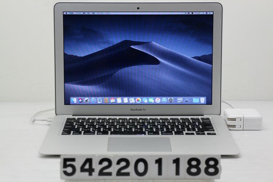 Apple MacBook Air Early 2014 Core i7 4650U 1.7GHz/8G/512G(SSD)/13.3W/WXGA+【中古】【20200215】