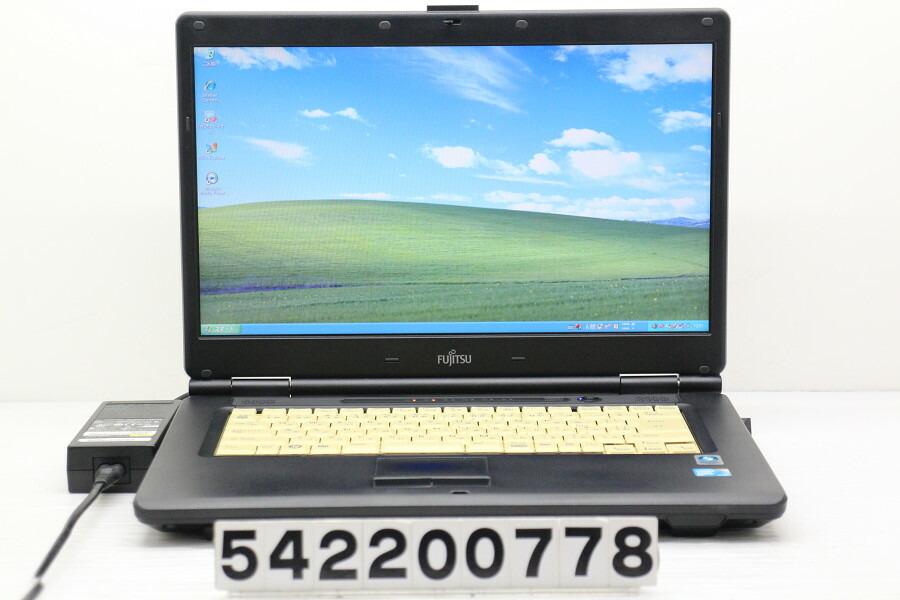 富士通 FMV-A8280 C2D P8700 2.53GHz/2G/250G/Multi/15.6W/FWXGA/XP【中古】【20200219】