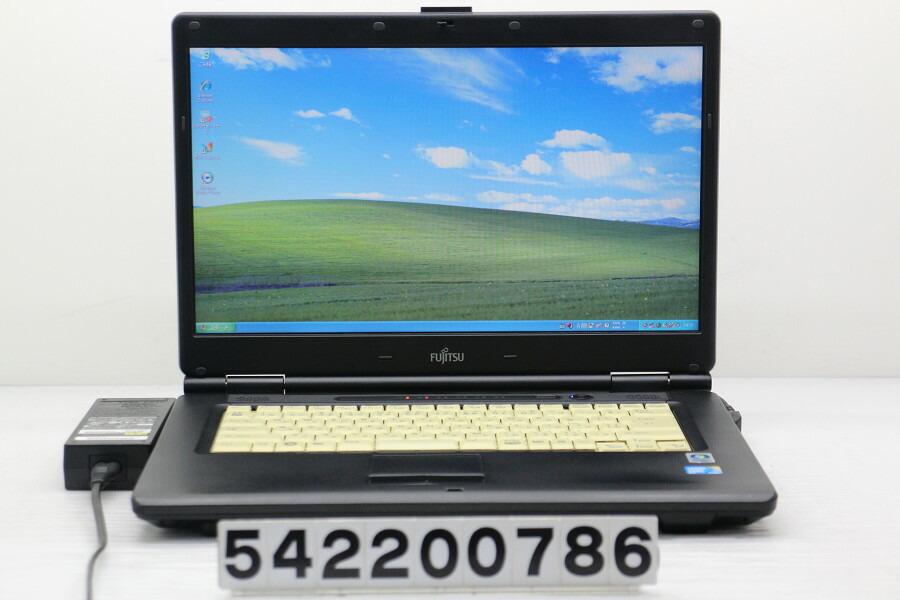 富士通 FMV-A8280 C2D P8700 2.53GHz/2G/250G/Multi/15.6W/FWXGA/XP【中古】【20200226】