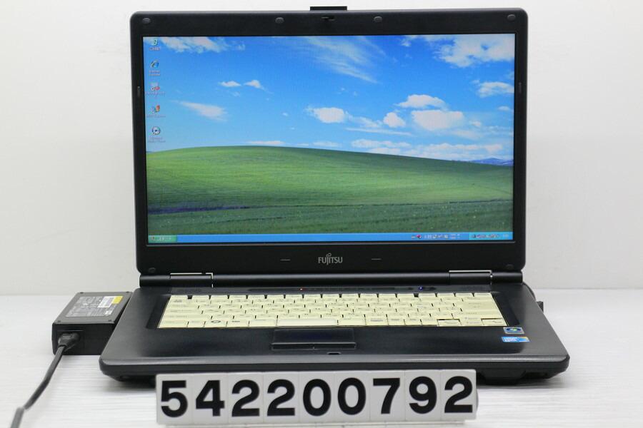 富士通 FMV-A8280 C2D P8700 2.53GHz/2G/250G/Multi/15.6W/FWXGA/XP【中古】【20200304】