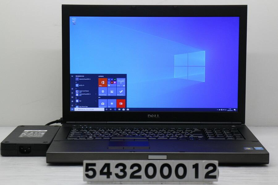 DELL Precision M6800 Core i7 4940MX 3.1GHz/32G/256G(SSD)+1T/Multi/Win10/K3100M【中古】【20200311】