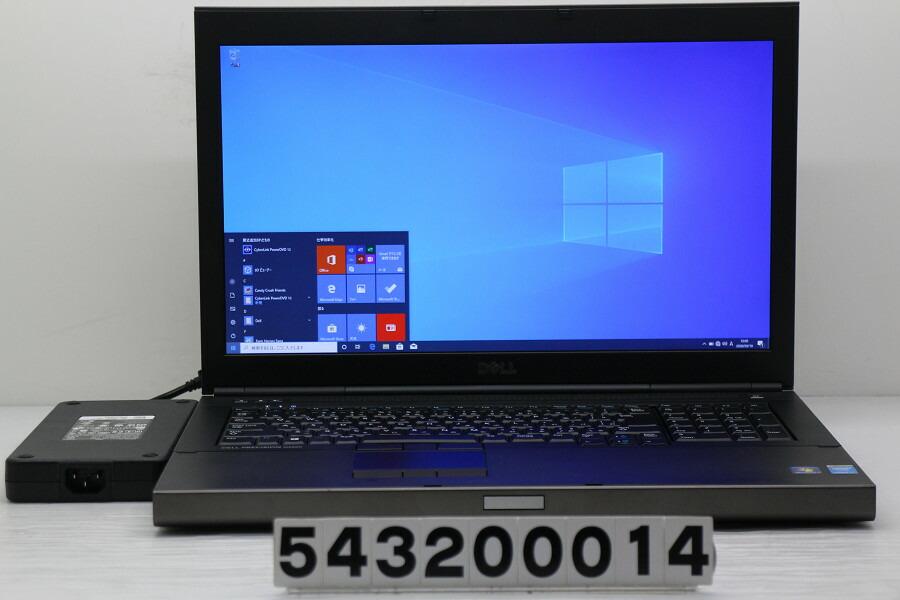 DELL Precision M6800 Core i7 4930MX 3GHz/32G/256GB(SSD)+1TB/Multi/Win10/K3100M【中古】【20200311】
