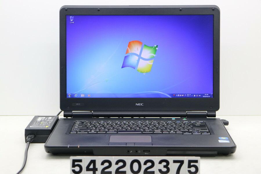 NEC PC-VK16EXZCC Celeron B810 1.6GHz/2G/500G/DVD/15.6W/FWXGA/RS232C/Win7【中古】【20200313】