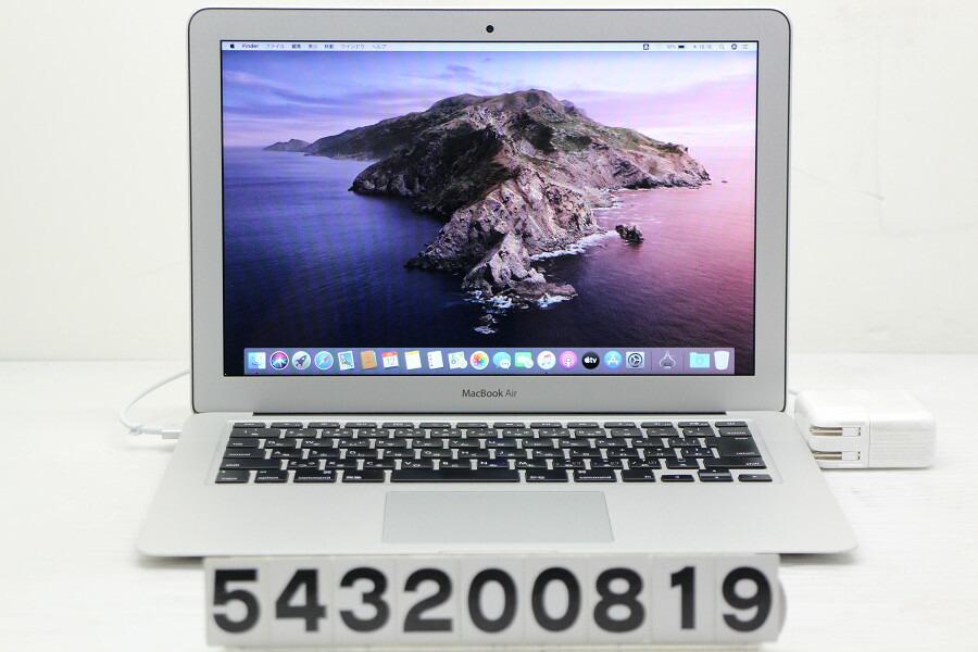 Apple MacBook Air A1466 Mid 2013 Core i5 4250U 1.3GHz/8G/480G(SSD)/13.3W/WXGA+【中古】【20200313】