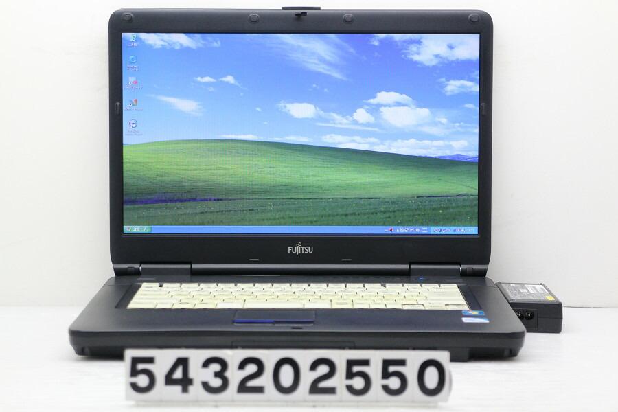 富士通 FMV-A6290 Celeron 900 2.2G/2G/1TB/Multi/15.6W/FWXGA/XP【中古】【20200324】