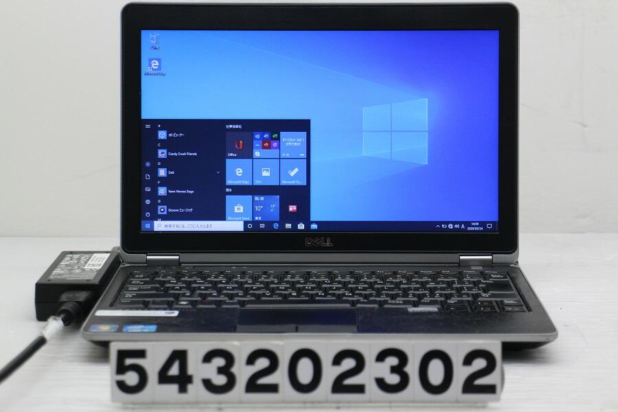 DELL Latitude E6230 Core i5 3320M 2.6G/4G/128G(SSD)/12.5W/FWXGA/Win10【中古】【20200326】