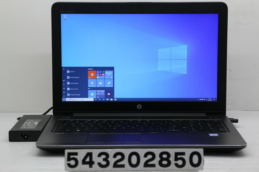 hp ZBook 15 G3 Core i7 6820HQ 2.7G/32G/512GB(SSD)+1TB/15.6W/FHD/Win10/M2000M【中古】【20200404】