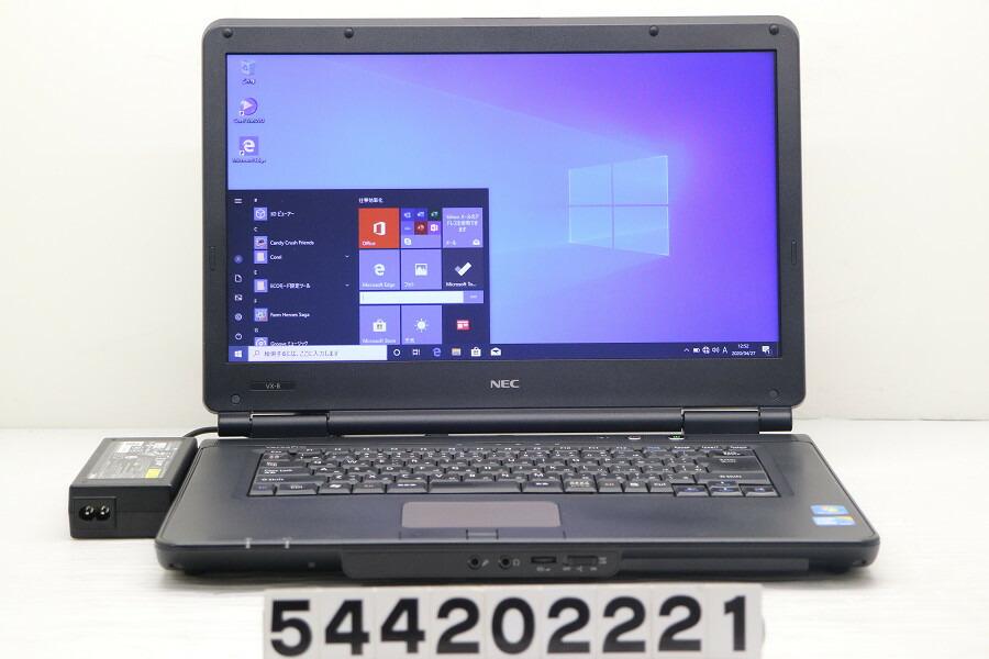 NEC PC-VK24LXZCB Core i3 370M 2.4G/4G/500G/DVD/15.6W/FWXGA/Win10【中古】【20200428】