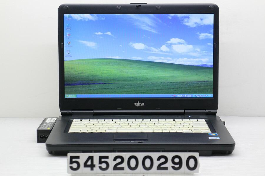 富士通 FMV-A6290 Celeron 900 2.2G/4G/1TB/Multi/15.6W/FWXGA/XP【中古】【20200513】