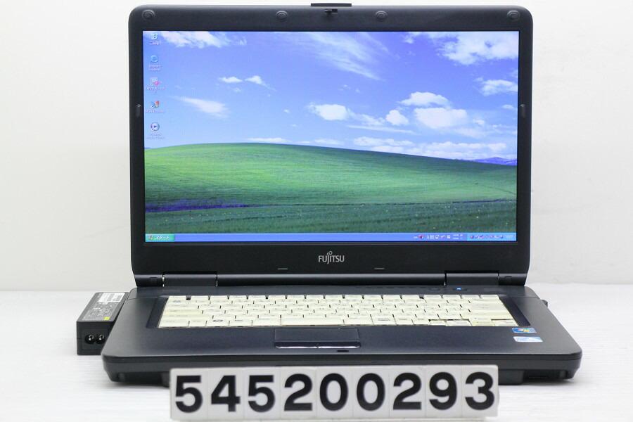富士通 FMV-A6290 Celeron 900 2.2G/2G/1TB/Multi/15.6W/FWXGA/XP【中古】【20200513】