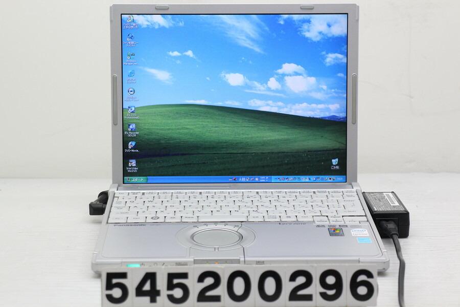 Panasonic CF-W7BWHAXS C2D U7500 1.06G/2G/80G/Multi/12.1/XGA/XP【中古】【20200515】