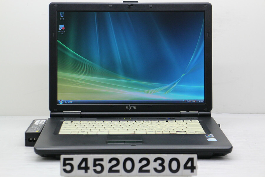 富士通 FMV-A6270 Celeron 575 2G/2G/80G/Combo/15.4W/WXGA/Vista【中古】【20200521】