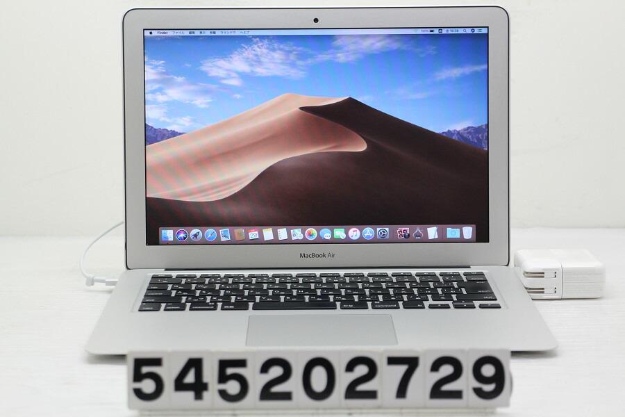 Apple MacBook Air A1466 Mid 2013 Core i5 4260U 1.4G/8G/256G(SSD)/13.3W/WXGA+【中古】【20200530】