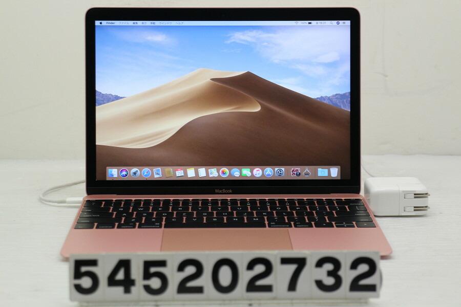 Apple MacBook Retina A1534 Early 2016 Core m7 6Y75 1.2G/8G/256G(SSD)/12W/【中古】【20200530】