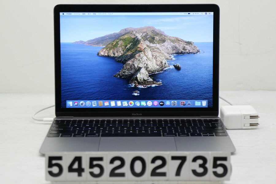 Apple MacBook Retina A1534 Early 2015 Core M-5Y31 0.9G/8G/256G(SSD)/12W/【中古】【20200530】