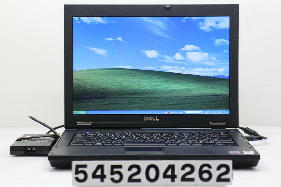 DELL Latitude E5400 C2D P8600 2.4G/2G/160G/Multi/14.1W/WXGA/XP【中古】【20200603】