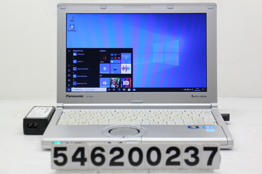 Panasonic CF-NX1VWJYS Core i3 2350M 2.3G/4G/128G(SSD)/11.6W/FWXGA/Win10【中古】【20200604】