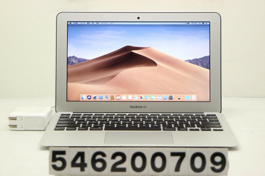 Apple MacBook Air Early 2014 Core i5 4260U 1.4G/4G/128G(SSD)/11.6W/FWXGA【中古】【20200617】