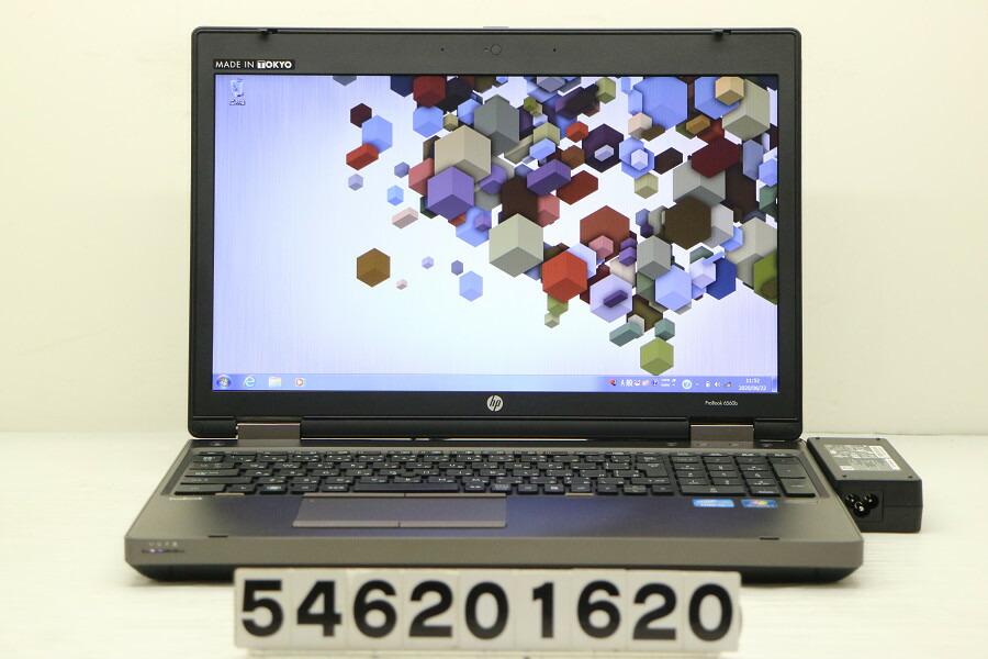hp ProBook 6560b Core i7 2620M 2.7G/4G/500G/Multi/15.6W/FWXGA/RS232C/Win7【中古】【20200624】