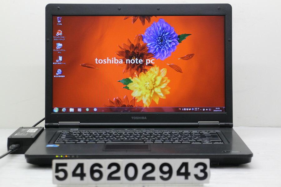 東芝 dynabook K41 226Y/HD Core i3 350M 2.27G/2G/160G/DVD/RS232C/Win7【中古】【20200702】
