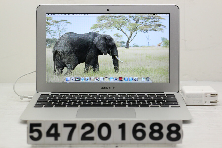 Apple MacBook Air A1465 Mid 2013 Core i5 4250U 1.3G/4G/128G(SSD)/11.6W/FWXGA【中古】【20200721】