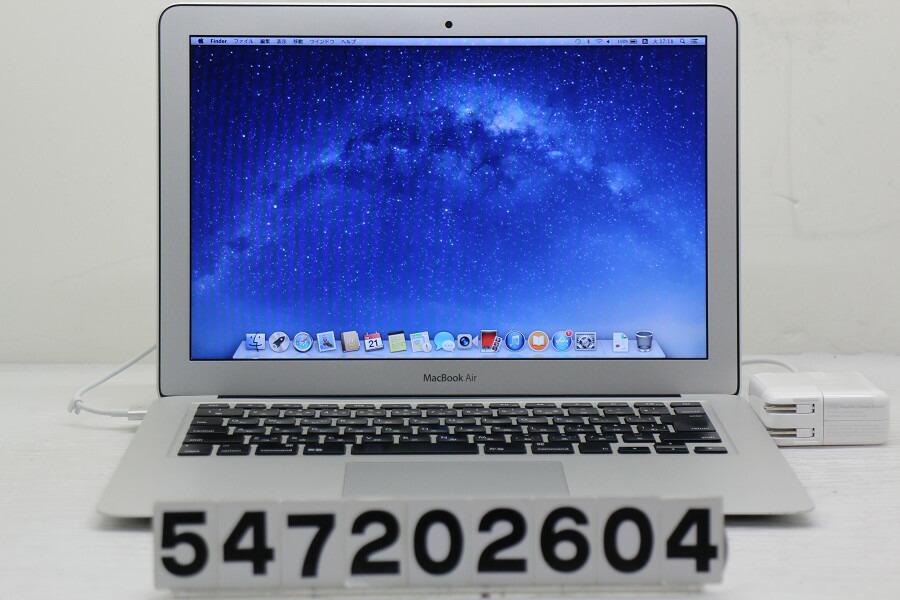 Apple MacBook Air A1466 Mid 2012 Core i5 3427U 1.8G/8G/240G(SSD)/13.3W/WXGA+【中古】【20200723】