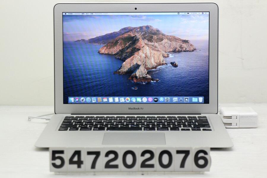 Apple MacBook Air A1466 Mid 2013 Core i5 4250U 1.3G/4G/256G(SSD)/13.3W/WXGA+【中古】【20200723】