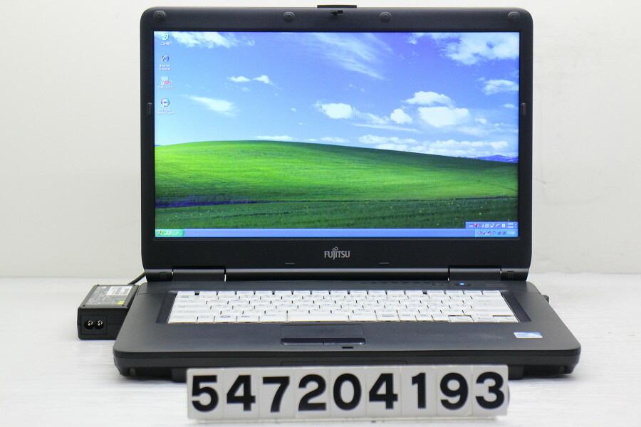 富士通 LIFEBOOK A540/AX Celeron 900 2.2G/2G/160G/Multi/15.6W/FWXGA/XP【中古】【20200808】