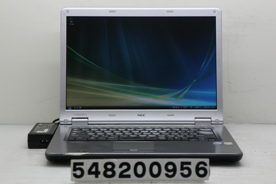 NEC PC-VY20AEZ75 C2D T7250 2G/2G/80G/CD-ROM/15.4W/WXGA/RS232C/Vista【中古】【20200819】