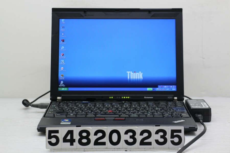 Lenovo ThinkPad X201 Core i5 M560 2.66G/2G/250G/12.1W/WXGA/XP【中古】【20200826】
