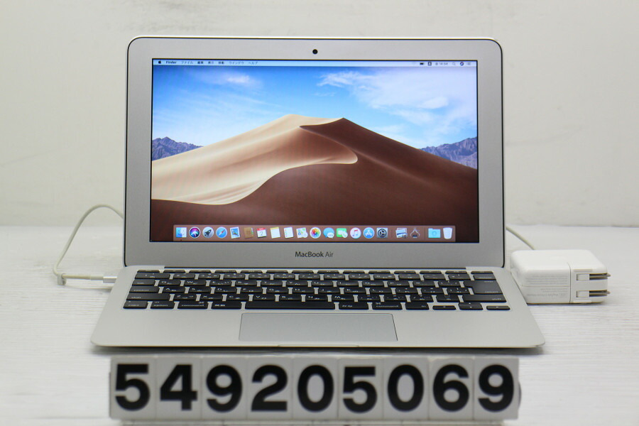 Apple MacBook Air Mid 2012 Core i5 3317U 1.7G/4G/128G(SSD)/11.6W/FWXGA【中古】【20201003】