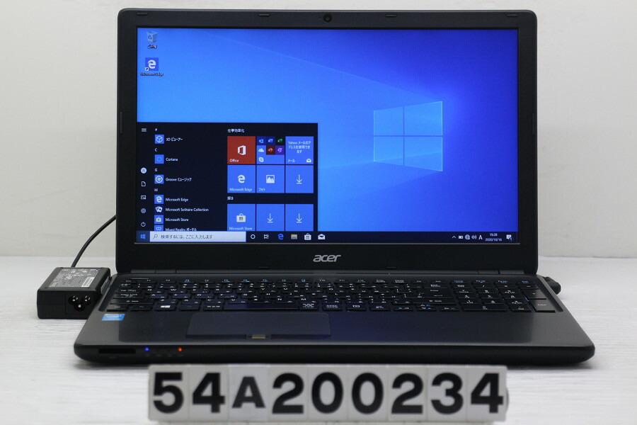 Acer TravelMate P455-M Core i5 4210U 1.7G/8G/256G(SSD)/Multi/15.6W/FWXGA/Win10【中古】【20201020】