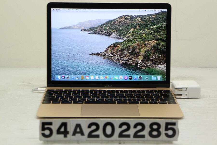 Apple MacBook Retina A1534 Early 2015 Core M-5Y31 0.9G/8G/256G(SSD)/12W/【中古】【20201028】